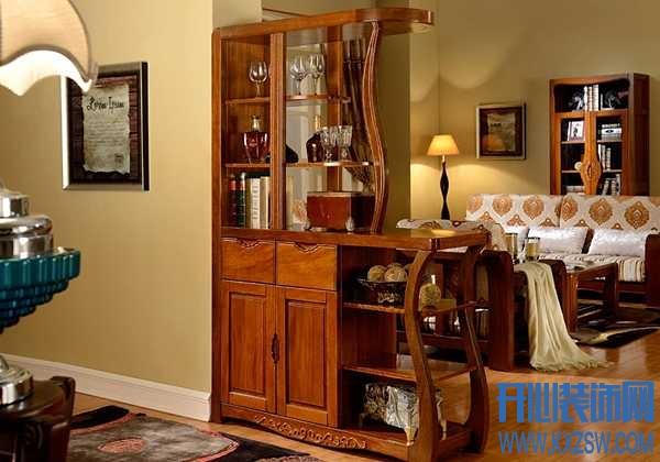 中式风格酒柜设计分享,看中式风格酒柜隔断出的个性空间