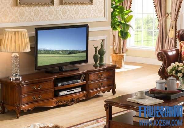欧式风格显气魄,瑞福祥家具品牌的电视柜最新动态