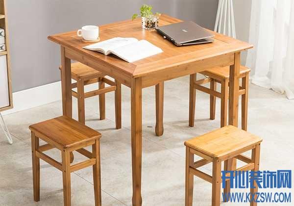 以竹为生的低碳概念,竹庭工厂的竹制餐桌特别推荐