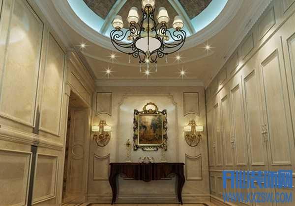 新古典的玄关要怎么设计好?最新新古典玄关效果图欣赏