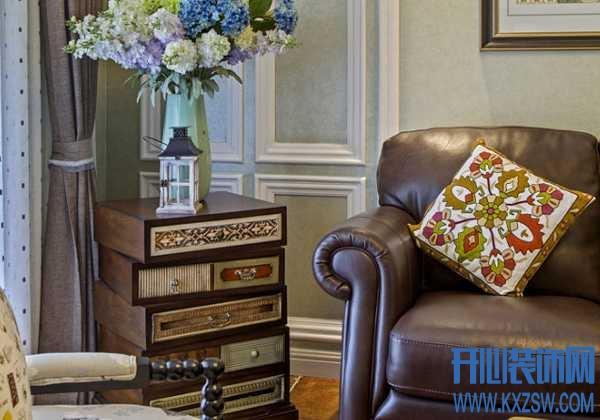 摩洛哥风格的优雅软装,轻描淡写的为家的装修添贵气