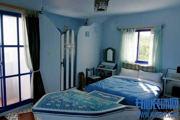 地中海风格卧室装修案例赏析,探讨卧室中的地中海风格装修效果