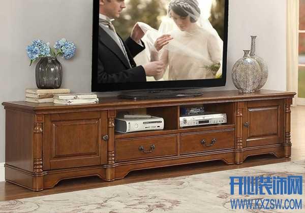给跪了!美式古典诗帝轩电视柜也能如此大气