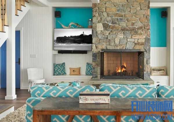 住在温柔的家中,地中海风格如何演绎家的海洋情怀