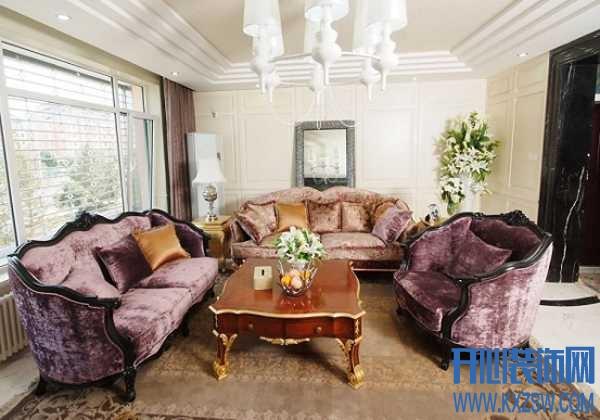 巴洛克风格家具特征加持,传递不规则的艺术美