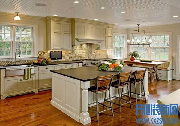 在家也能享受巴黎浪漫情怀,法式厨房让装修与浪漫同步