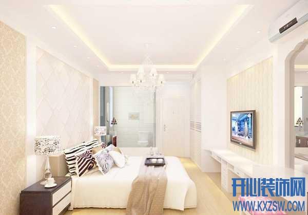 有范现代简约卧室吊顶,恋上现代时尚百变之家