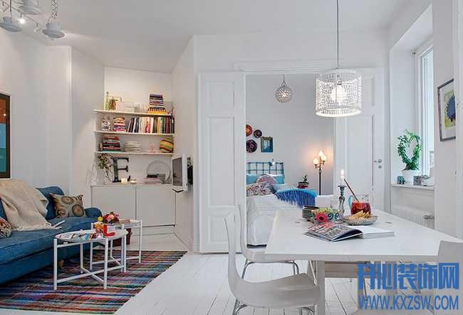 打造属于自己的小幸福,如何装饰现代简约单身公寓
