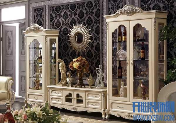 美酒在左美食在右,教你如何挑选新古典酒柜