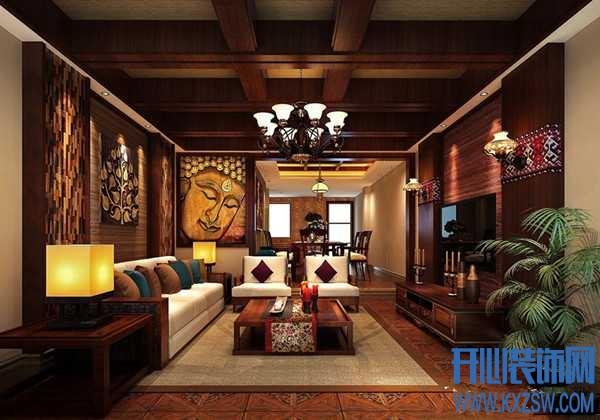 自然材质打造的异域浪漫,东南亚风格装修案例赏析