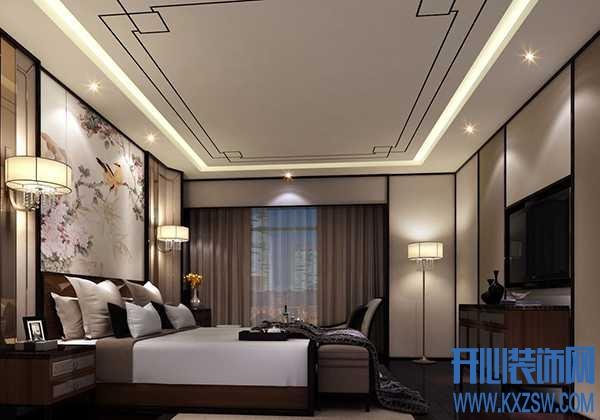 传统与现代的完美结合,新中式卧室设计说明