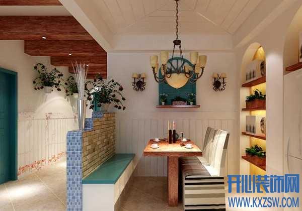 地中海风格餐厅的设计心得,看地中海餐厅如何塑造美食空间