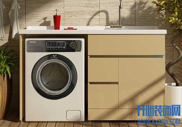 什么样的阳台洗衣柜材料既显功能,又显档次?