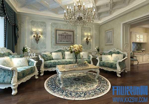 欧式沙发款式介绍,巧选欧式家具为客厅空间添彩