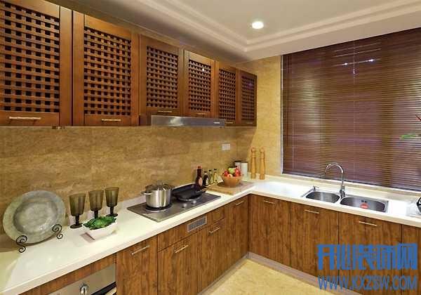 中式风格厨房装修详解,巧妙搭配中式厨房设计
