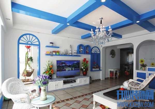 让家居聆听海的声音,看地中海风格客厅如何发挥海的想象