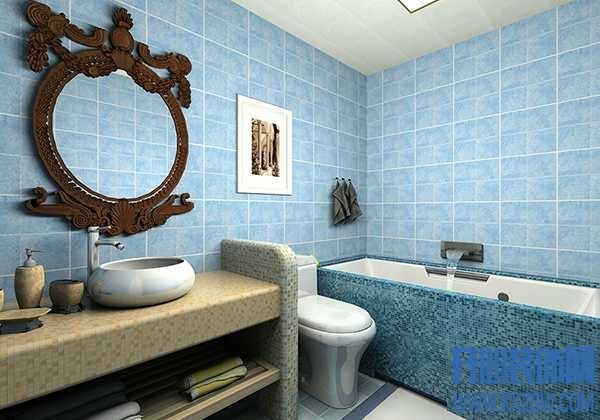新房想设计成地中海风格,卫生间的马赛克砖该怎么贴?