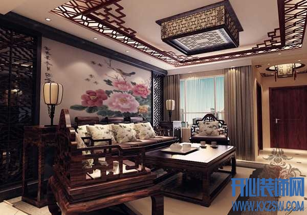 中式风格吊顶装修,中式风格吊顶设计要点讲解