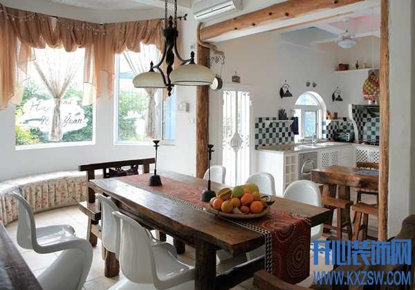 让家变得优雅起来,法式餐厅装修设计案例欣赏
