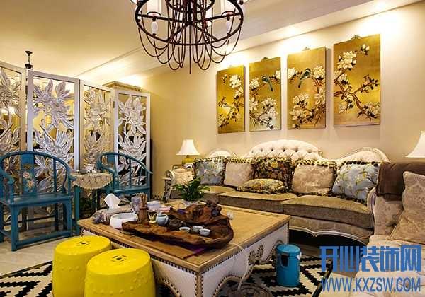 满足视感的混搭风格装修,谱写混搭家居的浓情时代