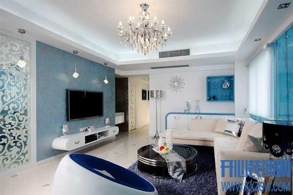 随意中优雅的地中海风情,地中海客厅的完美呈现