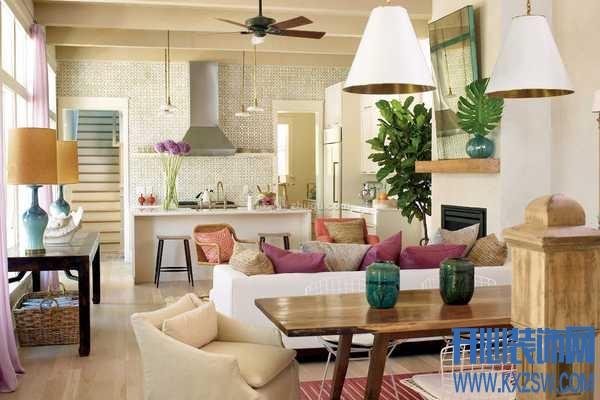 混搭风格客厅装修图片——分享混搭客厅装修四大技巧