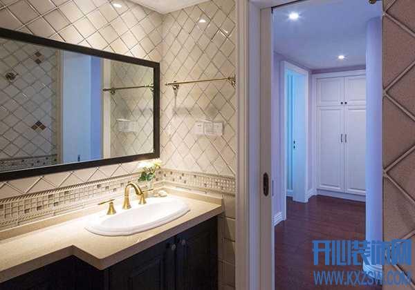 卫生间潮气大,卫浴柜上的镜子会受到影响吗?日常生活中卫浴镜要如何保养?