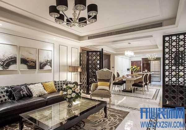 收起张扬的个性,新古典风格下的住宅也能如此纯情安静