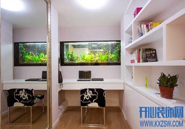 书房鱼缸的摆放位置,催旺文昌位的书房好风水