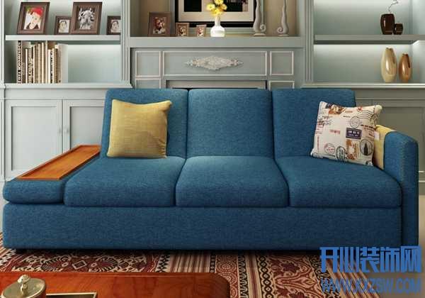 克莎蒂专注环保理念,客厅沙发多功能势头强劲