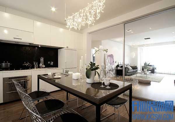 适用于多种户型的现代简约餐桌椅组合家具欣赏
