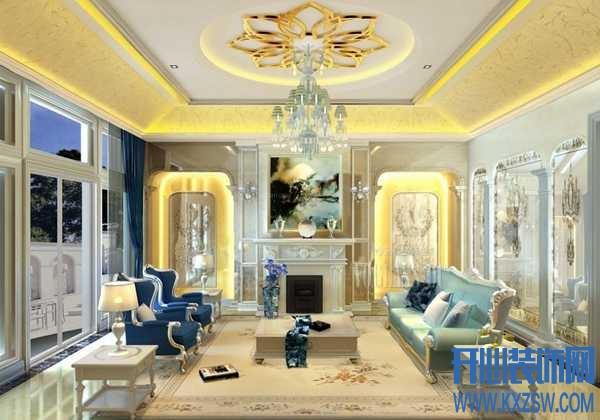 迷死人的新古典装修样板房,轻奢华装修的别样设计