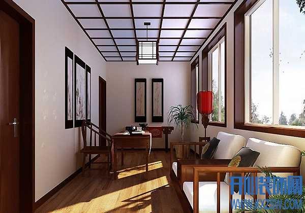 中式阳台设计方案,讲解中式阳台的装修要点