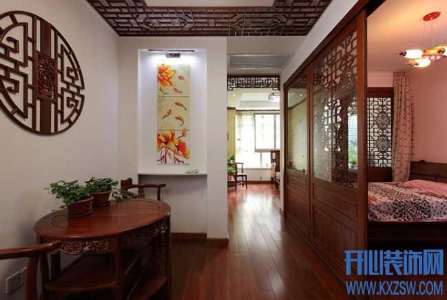 中式家装潮流空间之中式卧室,说说中式卧室的色彩和布局