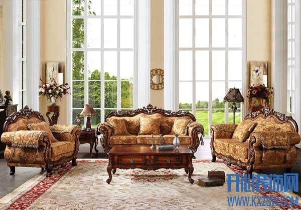 复古雅致成为装修风尚,鹏叶家具的西式沙发成为重头戏