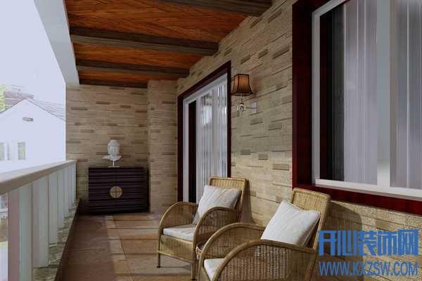 简约阳台上的小时光,享受高品质生活氛围的现代阳台