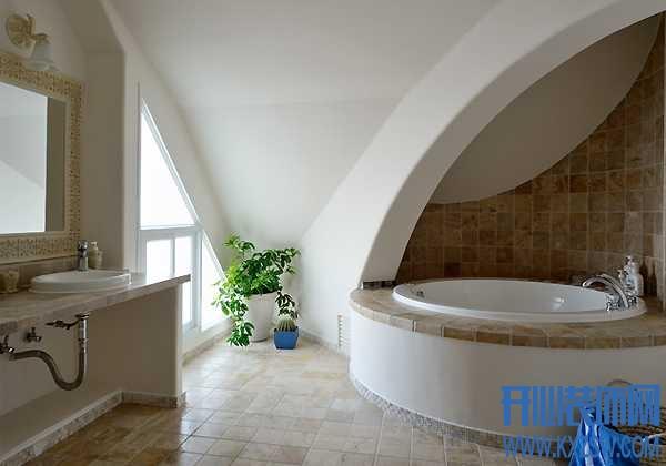地中海卫浴空间的特点,地中海卫生间的装修重点