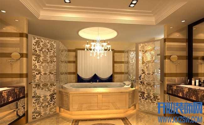 打造奢华舒适卫浴,让卫浴拥有欧式古典宫廷之美