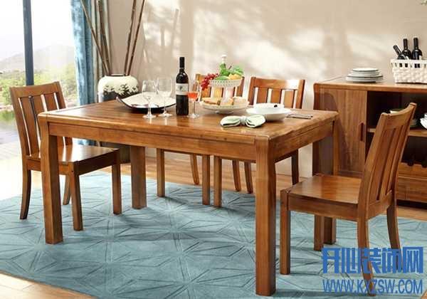 真材实料木质餐桌,克莎蒂品牌让生活迸发活力