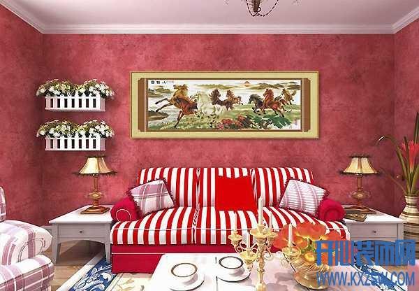 客厅挂什么画风水好,客厅挂画有何讲究