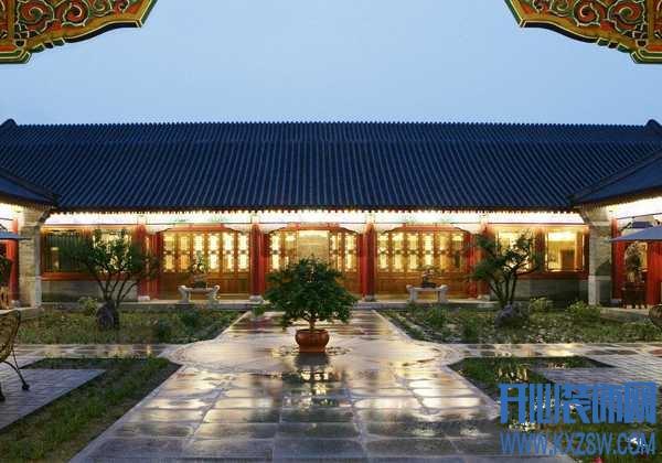 揭秘中式四合院别墅设计,四合院中的东方雅韵