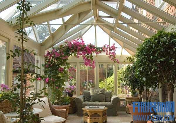 夏季纳凉好去处,室内花园的氤氲绿意让你透心凉
