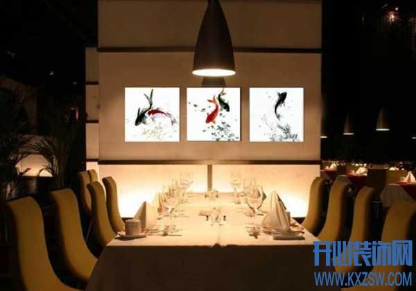 餐厅装饰画风水有讲究,为你解答餐厅装饰画风水二三事