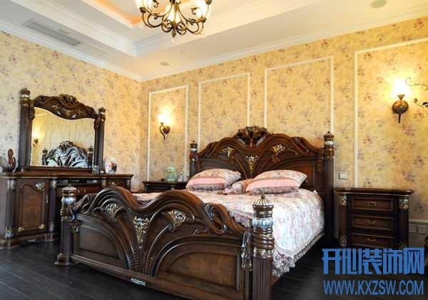 美式卧房家居的灵魂主打,分享美式卧床的特点剪辑