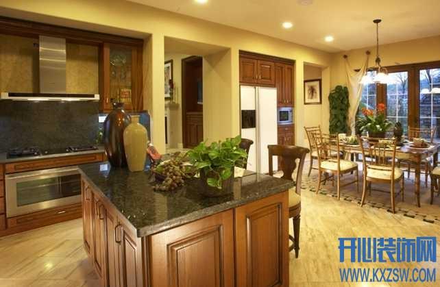 欧式家装篇之欧式厨房家具,欧式厨房家具布置细则大揭秘