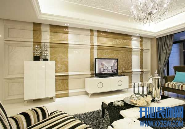 最新设计的欧式风格客厅电视背景墙分享