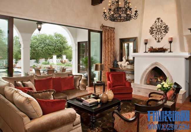 崇高的洛可可艺术追求,揭如何采用洛可可风格装饰客厅