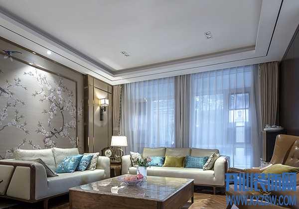 追求平静,不如试试新中式装修风格,130㎡新中式房子装修特点展示