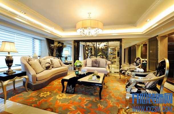 足下风景独好之新古典风地毯地砖运用