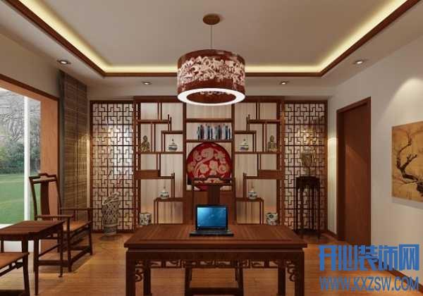 赏中式家具的独特魅力,中式博古架隔断